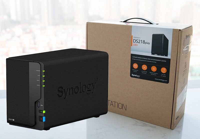 Synology DS220 + NAS开箱插图2