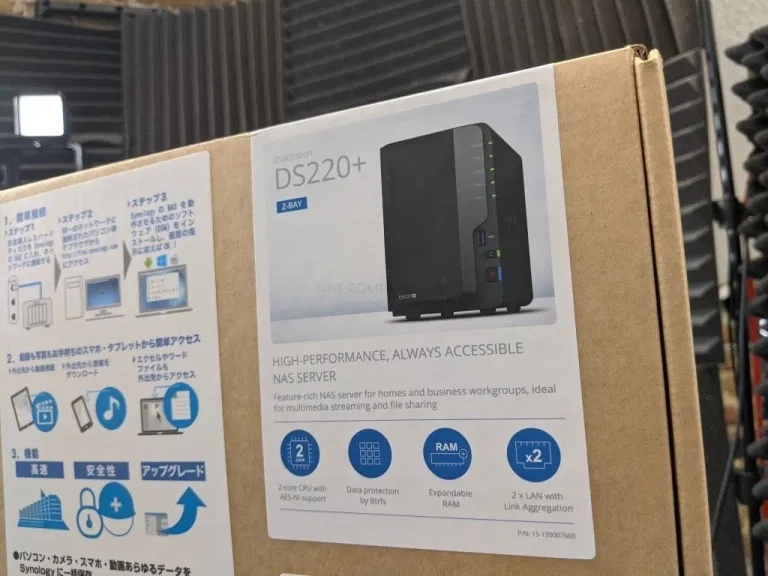 Synology DS220 + NAS开箱插图4